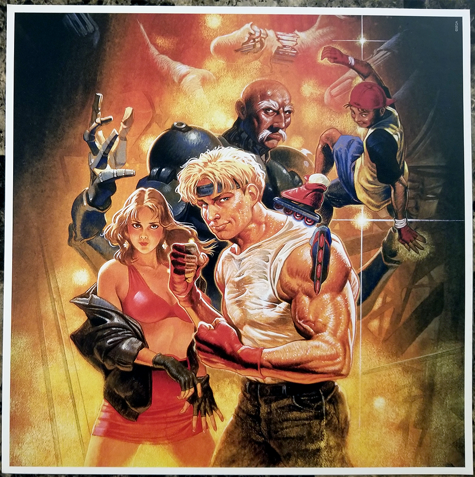 Streets Of Rage 3 Art Insert Video Game Grooves